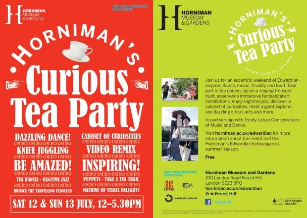 Horniman's Curious Tea Party