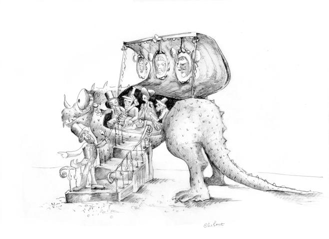 Iguanodon Restaurant - Emerald Ant