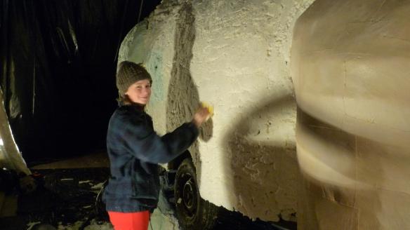 sculpting Iggy